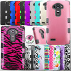 Hard Hybrid Case TUFF Heavy Duty Impact Shockproof Protective Cover for LG G4