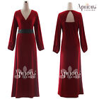 Plus Size Women Long Sleeve Formal Wedding Gown Maxi Party Evening Prom Dress