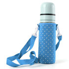 500ML Water Bottle Carrier Insulated Bag Waterproof Pouch Shoulder Strap Cover