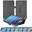 Hellfire Trading Magnetic PU Leather Case for Samsung Galaxy Tab E T560 9.6""