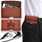 Luxury Horizontal Belt Holster Clip & Earphone For Samsung Gaalxy A3
