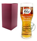 Personalised 1 Pint Kronenbourg 1664 Branded Lager Glass Christmas Xmas Gift