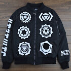 Paisley Solid Thick Embroidery KTZ Religion 6 Totem Unisex Coat Tattoo Jacket