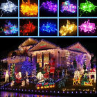 Xmas 1 2 3 5 10M LED Silver Copper Cable Wire Fairy Light String Lamp Cool