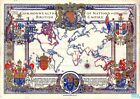 Vintage 1937 Map of The British Empire  Poster A3 Print