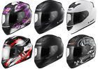 LS2 FF352 FULL FACE MOTORCYCLE  HELMET FLUO WOLF ROOKIE ONE IRIS X-RAY SOLID
