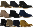 Mens Lambretta Carnaby Classic Suede MOD SKA Lace Up Desert Boots Sizes 6 to 12