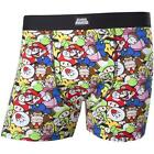 Nintendo Super Mario Mens Cotton Boxer Shorts - New Official With Tag Sizes S-XL