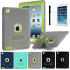 Shockproof Heavy Duty Hybrid With Stand Hard Case Cover For Apple iPad Gen T3K