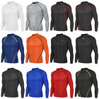 New Men Sports Apparel Long Sleeves Skin Tights Compression Base Under Layer Top