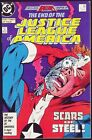 JUSTICE LEAGUE OF AMERICA #260 VF+ DEATH OF STEEL LEGENDS X-OVER