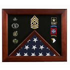 Federal Flag Display Case Hand Made By Veterans