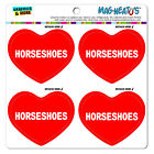 MAG-NEATO'S™ Car Refrigerator Vinyl Magnet Set I Love Heart Sports Hobbies H-J