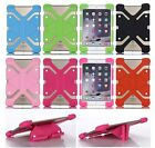 Universal Stand Rubber Soft Silicone Heavy Duty Case Cover For Samsung Tablet