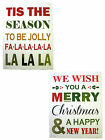 THE STRAITS HOME AND GIFT XMAS WORD PICTURE 50X60CM (2 DESIGNS) ITEM: 10798