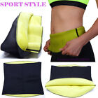 CA Sport Waist Trainer Corset Body Shaper Cincher Running Belt Sauna Suit Girdle