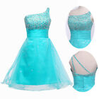 TUTU Mini Short Wedding Ball Gown Prom Bridesmaid Evening Party Cocktail Dresses