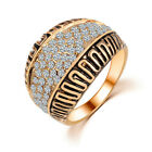 Nice Retro Hot Fashion Elegant Korean Wedding Romantic Zircon Many Style Ring