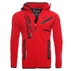 Geographical Norway Rainman Uomo Giacca Softshell Outdoor Giacca Funzionale