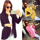 New Style Casual Slim Suit Cardigan Jacket Coat Women Fashion Long Sleeve Jacket