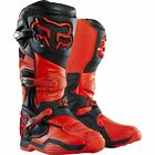 Fox 2015 Adults Comp 8 Motocross Enduro MX Boots - Orange WITH FREE MX SOCKS