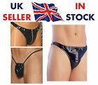 UK SELLER! Mens Real Leather & PVC Thongs & Pouches Pants Briefs All Sizes