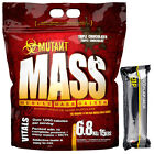 Mutant Mass Lean Muscle Weight Gainer 6.8kg 15lb + FREE CNP Pro Flapjack