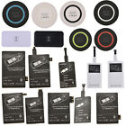 Qi Wireless Charger Receiver / Pad For Iphone Samsung S3 S4 S5 Note 2 3 4 Useful
