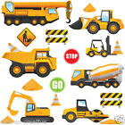 Childrens Construction Diggers Tractors Wall Stickers Decals Nursery Room Con6