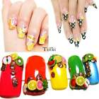 1000PCS Fimo Clay Slice DIY Nail Art Tips Decoration Colorful Stickers Lot TXWD