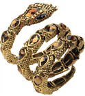 Stretch snake bangle bracelet armlet upper arm cuff jewelry gift for women A32