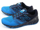 New Balance MT690LA1 2E Blue & Navy & White Lightweight Trail Running Shoes NB