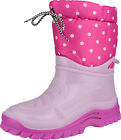 Misc Girls Flurry Childrens Warmlined Boot Nylon Upper Snow Winter Footwear