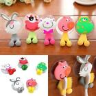 New Cartoon Animal Sucker Plastic Toothbrush Wall Holder Suction Cup Bathroom LJ