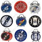 FOOTBALL FC WALL CLOCKS & ALARM CLOCKS VARIOUS TEAMS CHELSEA, BARCELONA & MORE