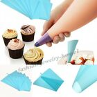 Silicone Reusable Icing Piping Cream Pastry Bag Cake Decorating Tool DIY Making,
