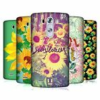 HEAD CASE DESIGNS GIRASOLE COVER RETRO RIGIDA PER LG TELEFONI 1
