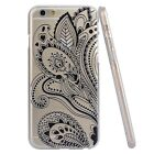 Ultra Thin Flower Paisley Elephant Cover Phone Case for Apple iPhone 5S 6 6 Plus