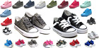 Внешний вид - New Lace Up Low Top Toddler Baby Boy Girls Canvas Shoes Walking Comfort 8 Colors
