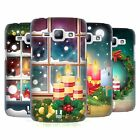HEAD CASE DESIGNS HOLIDAY CANDLES HARD BACK CASE FOR SAMSUNG PHONES 4