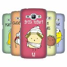 HEAD CASE DESIGNS YUMMY DOODLE HARD BACK CASE FOR SAMSUNG PHONES 4