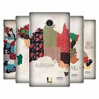 HEAD CASE DESIGNS PATTERNED MAPS HARD BACK CASE FOR NOKIA PHONES 3