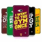 HEAD CASE DESIGNS FUNNY WORKOUT STATEMENTS HARD BACK CASE FOR NOKIA PHONES 1