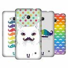 HEAD CASE DESIGNS RAINBOW MOUSTACHE HARD BACK CASE FOR NOKIA PHONES 1