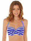 Lepel Riviera Halter Bandeau Bikini Top 160061 Blue/White NEW FOR 2016 SEASON