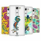 HEAD CASE DESIGNS PEACOCK GEOMETRY HARD BACK CASE FOR LG PHONES 2