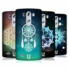 HEAD CASE DESIGNS SNOWFLAKES HARD BACK CASE FOR LG PHONES 1