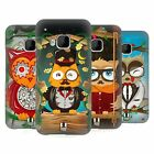 HEAD CASE DESIGNS FANCIFUL OWLS HARD BACK CASE FOR HTC PHONES 1