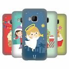 HEAD CASE DESIGNS JOLLY CHRISTMAS TOONS HARD BACK CASE FOR HTC PHONES 1