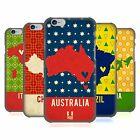 HEAD CASE DESIGNS PRINTED COUNTRY MAPS HARD BACK CASE FOR APPLE iPHONE PHONES